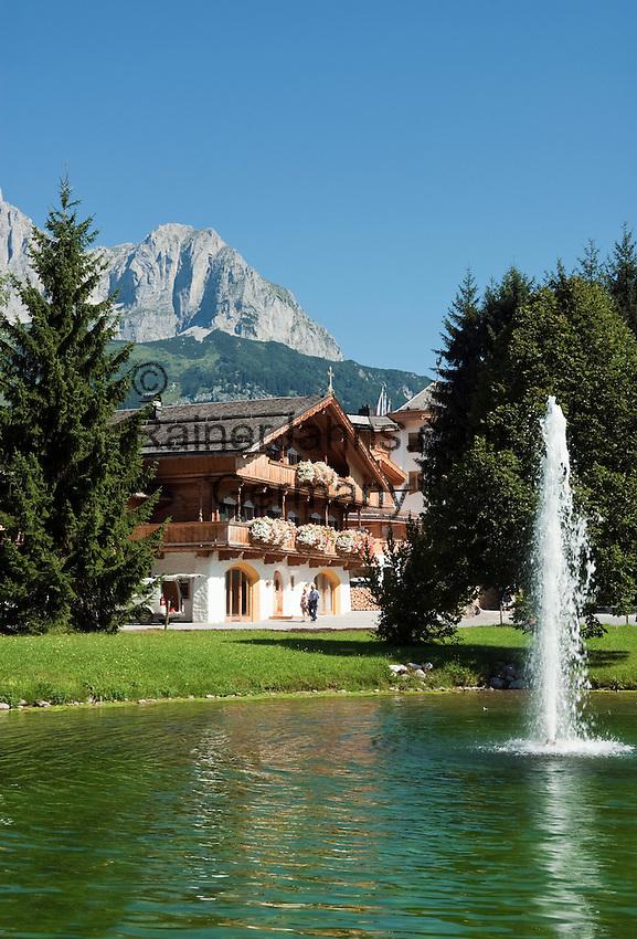 Austria, Tyrol, Going at Wilder Kaiser mountain: Hotel Stanglwirt