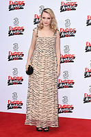 Emily Berrington<br /> arriving for the Empire Film Awards 2017 at The Roundhouse, Camden, London.<br /> <br /> <br /> &copy;Ash Knotek  D3243  19/03/2017