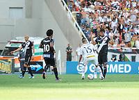 RIO DE JANEIRO, RJ, 10 MARÇO 2013 - TAÇA GUANABARA - Jogador Gabriel (15) do Botafogo durante partida Botafogo X Vasco, valida pela Final da Taca Guanabara, (primeiro turno do Estadual do Rio de Janeiro), no Estádio do Engenhão, na zona norte do Rio, neste domingo. 10/03/2013 - (FOTO: SANDROVOX / BRAZIL PHOTO PRESS).