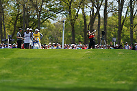 Ryan Vermeer (USA) on the 12th tee during the 3rd round at the PGA Championship 2019, Beth Page Black, New York, USA. 18/05/2019.<br /> Picture Fran Caffrey / Golffile.ie<br /> <br /> All photo usage must carry mandatory copyright credit (© Golffile | Fran Caffrey)