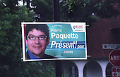 Pierre Paquette for the Bloc Quebecois  election poster 2008