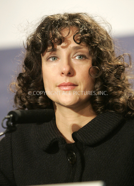 WWW.ACEPIXS.COM . . . . .  ... . . . . US SALES ONLY . . . . .....BERLIN, FEBRUARY 15, 2005:....Rebecca Miller at a press conference for 'The Ballad of Jack and Rose' held at Hotel Hyatt during the Berlin Film Festival. ....Please byline: FAMOUS - ACE PICTURES - H. BOESL... . . . .  ....Ace Pictures, Inc:  ..Philip Vaughan (646) 769-0430..e-mail: info@acepixs.com..web: http://www.acepixs.com