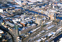 Deutschland, Hamburg, Harburg, Schellerdamm, Karnapp, Schloßstrasse, Gewerbe, Industrie, Forschung
