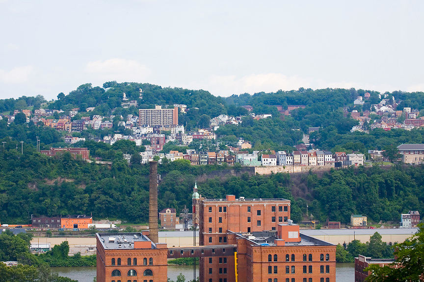 Pittsburgh's Neighborhoods - Troy Hill from the Strip