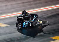 Jul 20, 2019; Morrison, CO, USA; NHRA pro stock motorcycle rider Jianna Salinas during qualifying for the Mile High Nationals at Bandimere Speedway. Mandatory Credit: Mark J. Rebilas-USA TODAY Sports