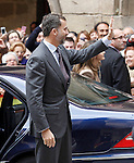 Prince Felipe of Spain visits Alcaniz village on November 7, 2012 in Alcaniz, Teruel, Spain. (ALTERPHOTOS/Acero)