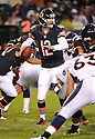 JOSH MCCOWN (12), of the Chicago Bears, in action during the Bears preseason game against the Denver Broncos on August 9, 2012 at Soldier Field in Chicago, IL. The Broncos beat the Bears 31-3.