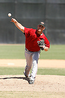 Bradin Hagens - Arizona Diamondbacks 2009 Instructional League .Photo by:  Bill Mitchell/Four Seam Images..