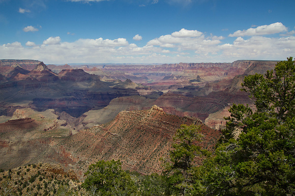 View from Grandview Point, South Rim, Grand Canyion National Park, Arizona. .  John offers private photo tours in Grand Canyon National Park and throughout Arizona, Utah and Colorado. Year-round.