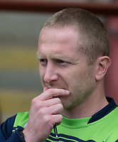 Wycombe Wanderers Assistant Manager Richard Dobson ahead of the Sky Bet League 2 match between Leyton Orient and Wycombe Wanderers at the Matchroom Stadium, London, England on 1 April 2017. Photo by Andy Rowland.