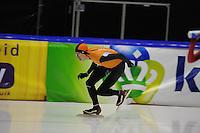 SCHAATSEN: HEERENVEEN: 31-01-2014,  IJsstadion Thialf, Training Topsport, Jorrit Bergsma, ©foto Martin de Jong