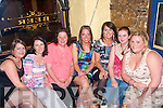 9620.---------.Party.-----.Caroline Clifford,seated centre,from Oakpark,Tralee,celebrated her 30th birthday in style with some of her friend's in Sean O?ges bar Bridge St Tralee last Friday night,with her were L-R Katie Sheehy,Elanor Redmond,Maud and Caroline Clifford,Deirdra Murphy,Deirdra Hartnett and Ciara O'Connor.