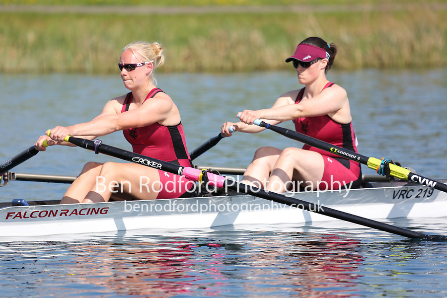 Race: 83  Event: W Club 2x  Heat A<br /> <br /> Wallingford Regatta 2018<br /> <br /> To purchase this photo, or to see pricing information for Prints and Downloads, click the blue 'Add to Cart' button at the top-right of the page.