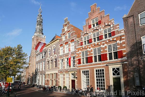 Nederland Leiden 2015 10 03 . Binnenstad van Leiden. Foto Berlinda van Dam / Hollandse Hoogte