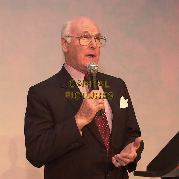 MURRAY WALKER.The Awards ceremony at the annual Waterstone's conference at the Hilton Metropole .ref: HT.www.capitalpictures.com.sales@capitalpictures.com.© Capital Pictures. .