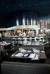 Minnesota, Twin Cities, Minneapolis-Saint Paul: Cue restaurant at Guthrie Theater, award-winning repertory theater..Photo mnqual243-75351..Photo copyright Lee Foster, www.fostertravel.com, 510-549-2202, lee@fostertravel.com.