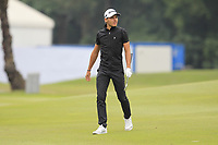 Joakim Lagergren (SWE) on the 1st fairway during Round 3 of the UBS Hong Kong Open, at Hong Kong golf club, Fanling, Hong Kong. 25/11/2017<br /> Picture: Golffile | Thos Caffrey<br /> <br /> <br /> All photo usage must carry mandatory copyright credit     (&copy; Golffile | Thos Caffrey)