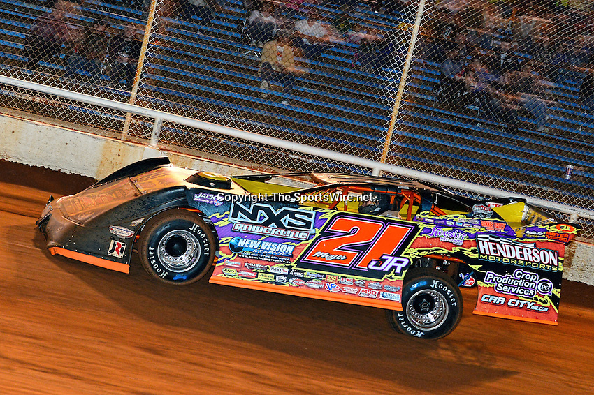 Apr 7, 2013; 1:12:12 AM; Kilgore, TX ., USA; The 3rd Annual $10,000 to win High Banks Havoc for Lucas Oil Late Model Series at LoneStar Speedway.  Mandatory Credit: (thesportswire.net)