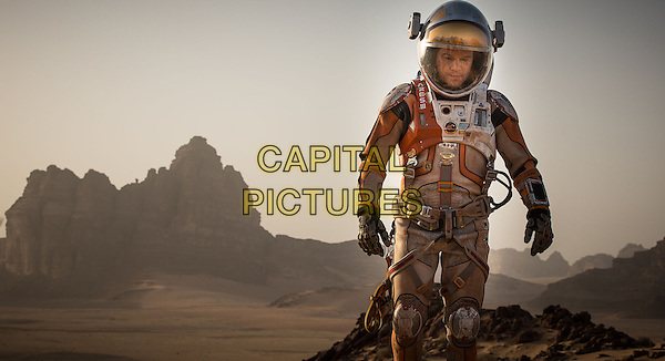Matt Damon <br /> in The Martian (2015) <br /> *Filmstill - Editorial Use Only*<br /> CAP/FB<br /> Image supplied by Capital Pictures
