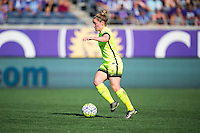 Orlando, Florida - Sunday, May 8, 2016: Seattle Reign FC midfielder Kim Little (8) during a National Women's Soccer League match between Orlando Pride and Seattle Reign FC at Camping World Stadium.