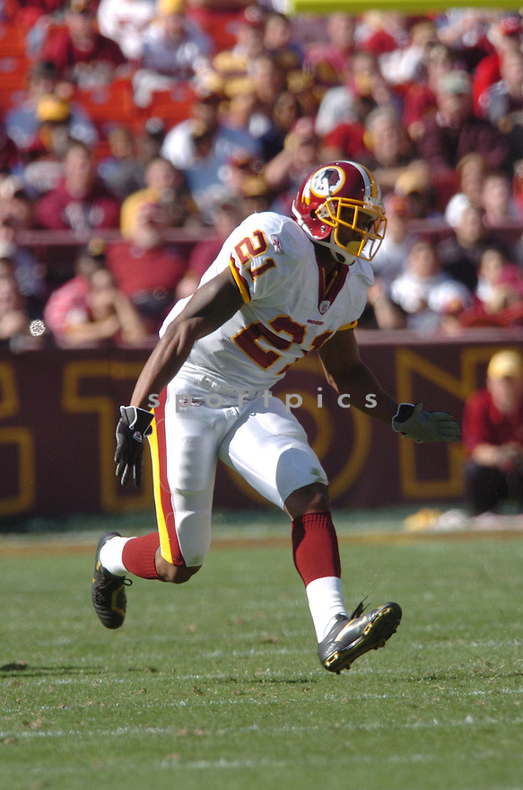 SEAN TAYLOR of the Washington Redskins in action against the Tennessee Titans on October 15, 2006 at FedEx Field...Titans win 25-22..Tomasso DeRosa / SportPics