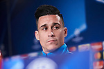 Napoles'es forward Jose Callejon during the press conference before Champions League Match between Real Madrid and Napoles at Santiago Bernabeu Stadium in Spain. February 14, 2017. (ALTERPHOTOS/Rodrigo Jimenez)