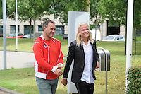 SCHAATSEN: Team Corendon, Koen Verweij, Jan van Veen, ©foto Martin de Jong