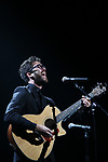 Darren Criss performing at the Dramatists Guild Foundation toast to Stephen Schwartz with a 70th Birthday Celebration Concert at The Hudson Theatre on April 23, 2018 in New York City.