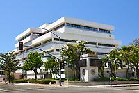 OC Civic Center Plaza at Broadway in Santa Ana