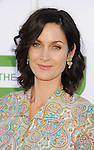 BEVERLY HILLS, CA - JULY 29: Carrie-Anne Moss arrives at the CBS, Showtime and The CW 2012 TCA summer tour party at 9900 Wilshire Blvd on July 29, 2012 in Beverly Hills, California.