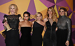 BEVERLY HILLS, CA - JANUARY 07: (L-R) Actors Nicole Kidman, Zoe Kravitz, Reese Witherspoon, Laura Dern and Shailene Woodley arrive at HBO's Official Golden Globe Awards After Party at Circa 55 Restaurant in the Beverly Hilton Hotel on January 7, 2018 in Los Angeles, California.