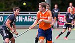 DEN HAAG - Mirco Pruyser tijdens  de trainingswedstrijd hockey Nederland-Argentinie (1-2). COPYRIGHT KOEN SUYK