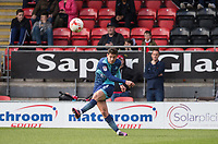 Joe Jacobson of Wycombe Wanderers during the Sky Bet League 2 match between Leyton Orient and Wycombe Wanderers at the Matchroom Stadium, London, England on 1 April 2017. Photo by Andy Rowland.