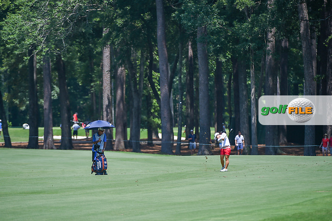 Sei Young Kim (KOR) hits her approach shot on 2 during round 4 of the U.S. Women's Open Championship, Shoal Creek Country Club, at Birmingham, Alabama, USA. 6/3/2018.<br /> Picture: Golffile | Ken Murray<br /> <br /> All photo usage must carry mandatory copyright credit (© Golffile | Ken Murray)