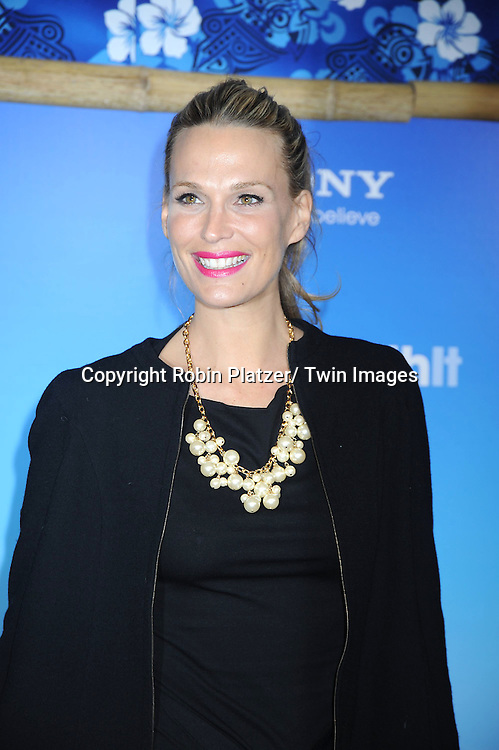 "Molly Sims attending the Special New York Screening of "" Just Go With It"" on February 8, 2011 at The Ziegfeld Theatre in New York City."