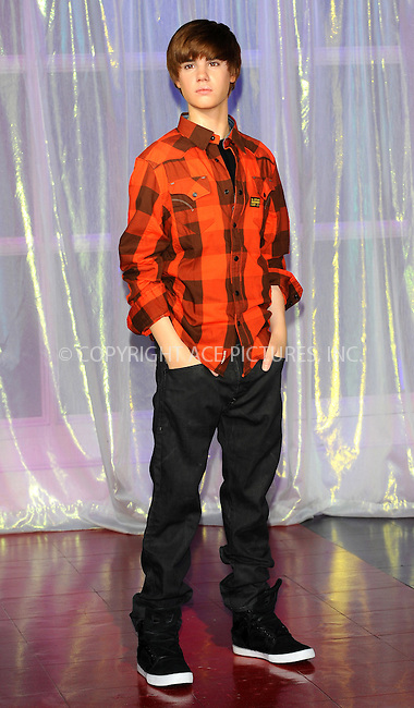 WWW.ACEPIXS.COM . . . . .  ..... . . . . US SALES ONLY . . . . .....March 15 2011, London....Popstar Justin Bieber waxwork at Madame Tussauds on March 15, 2011 in London, England. ....Please byline: FAMOUS-ACE PICTURES... . . . .  ....Ace Pictures, Inc:  ..Tel: (212) 243-8787..e-mail: info@acepixs.com..web: http://www.acepixs.com