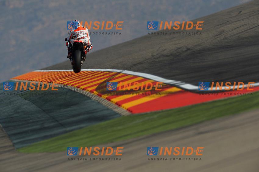 Aragon (Spagna) 26/09/2014 - prove libere Moto GP / foto Luca Gambuti/Image Sport/Insidefoto<br /> nella foto: Marc Marquez