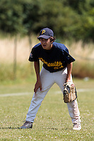 04 July 2010: Pitchers Pineuilh, little league, championnat Cadets, Ronchin, France.