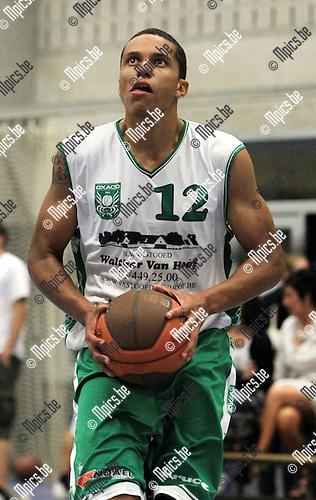 2010-08-15 / Basketbal / seizoen 2010-2011 / BBC Oxaco / Derby Enoch..Foto: mpics