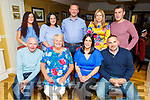 Carmel Chawke and Caroline O'Connor from Ballymac celebrating a double birthday in the Brogue Inn on Saturday night<br /> Seated l to r: Jim and Carmel Chawke, Caroline O'Connor and Jamie Chawke.<br /> Back l to r: Sinead and Lorraine O'Connor, Mike Murphy, Kelly Ann Roantree and John O'Connor
