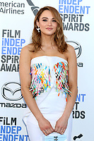 LOS ANGELES - FEB 8:  Hunter King at the 2020 Film Independent Spirit Awards at the Beach on February 8, 2020 in Santa Monica, CA