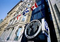 Montreal (Qc) CANADA - March 2008.-File Photo - World Trade Center (Centre de Commerce Mondial).747 Place Victoria...