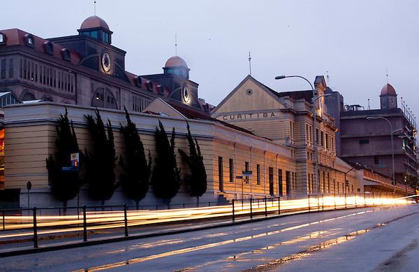Curitiba_PR, Brasil...Shopping Estacao onde se localiza o Museu Ferroviario de Curitiba e a primeira estacao de trens da cidade, Parana...Station Mall in Curitiba, in this place has a Train Museum of Curitiba in Parana...Foto: BRUNO MAGALHAES / NITRO