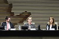 SÃO PAULO, SP, 08.08.2019 - POLITICA-SP - Ellen Gracie Northfleet, Ex-Ministra e Presidente do Supremo Tribunal Federal, participa do Seminário Institucionalização da Justiça Conciliativa pelo Poder Público-Conselho Nacional de Justiça e Advocacia-Geral na FIESP, nesta quinta-feira, 8. (Foto Charles Sholl/Brazil Photo Press)