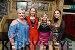 The staff of the Manor West Hotel enjoying the night out in the Brogue Inn on Sunday night. L-r, Catherine Howard, Jane Carmody, Eileen Moloney and Olivera Ivkovic.