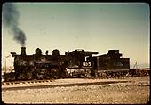 D&amp;RGW #495 K-37 - Alamosa area<br /> D&amp;RGW  Alamosa area ?, CO