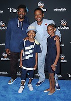 "10 June 2016 - Hollywood. Deon Cole, Miles Brown, Anthony Anderson, Marsai Martin. Arrivals forFYC Event For ABC's ""Black-ish"" held at Dave & Busters. Photo Credit: Birdie Thompson/AdMedia"