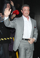 NEW YORK, NY - JANUARY 29: Sylvester Stallone seen at Good Morning America in New York City. January 29, 2013. Credit: RW/MediaPunch Inc. /NortePhoto