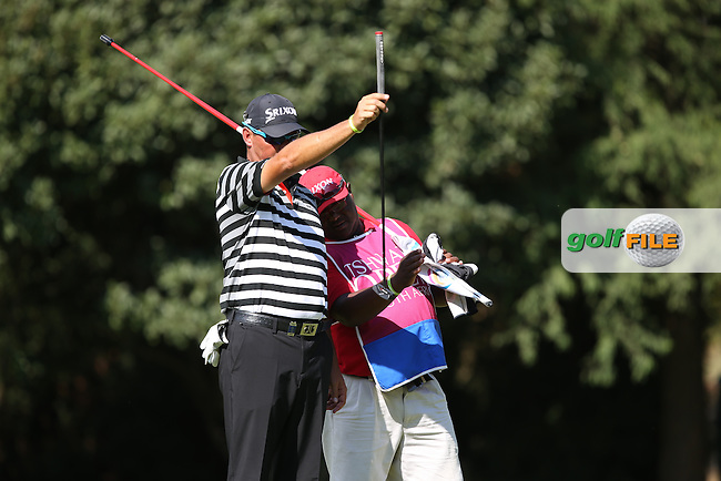Wallie Coetsee (RSA) putting on the 12th during the Final Round of the Tshwane Open 2015 at the Pretoria Country Club, Waterkloof, Pretoria, South Africa. Picture:  David Lloyd / www.golffile.ie. 15/03/2015