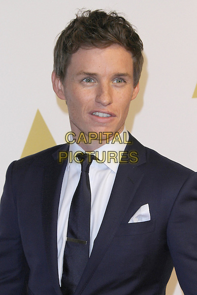 02 February 2015 - Beverly Hills, California - Eddie Redmayne. 87th Academy Awards Nominee Luncheon held at the The Beverly Hilton Hotel.